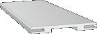 Межкомнатная дверь - Добор Эмаль Polar (телескоп)