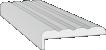 Межкомнатная дверь - Наличник «Каннелюр» Эмаль Polar (телескоп)