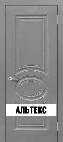 Межкомнатная дверь - Роял 1 глухая Серый