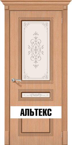 Межкомнатная дверь - Стиль Ф-01 (Дуб)