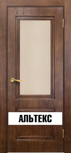 Межкомнатная дверь - Сити 5 Орех 2