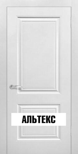 Межкомнатная дверь - Роял 2 глухая Белый