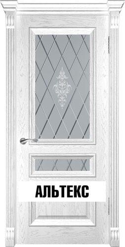 Межкомнатная дверь - Фараон-2 Дуб белая эмаль