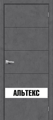 Межкомнатная дверь - Граффити-1 Slate Art