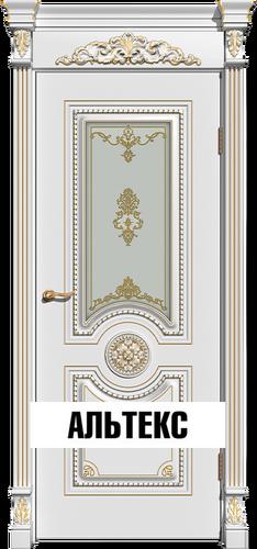 Межкомнатная дверь - Олимп РАЛ 9010