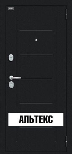 Входная дверь - Пик Букле черное/Dark Barnwood