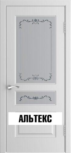 Межкомнатная дверь - Модель l-2 Белая эмаль