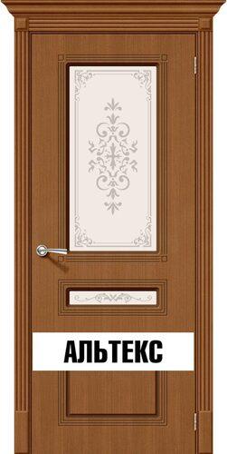 Межкомнатная дверь - Стиль Ф-11 (Орех)
