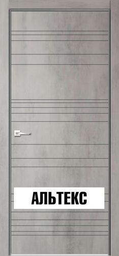 Межкомнатная дверь - Севилья 20 Бетон светлый