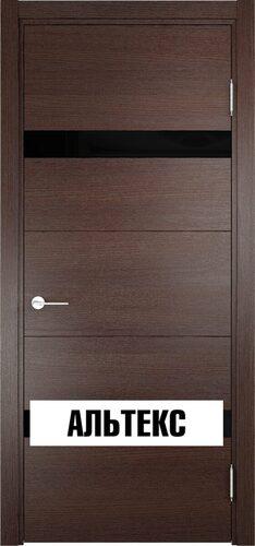Межкомнатная дверь - Турин 05 Дуб графит вералинга