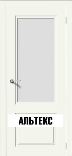 Межкомнатная дверь - Квадро 2 РАЛ 9010