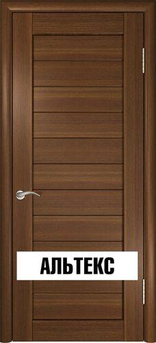 Межкомнатная дверь - Лу-21 Тёмный орех