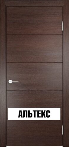 Межкомнатная дверь - Турин 01 Дуб графит вералинга