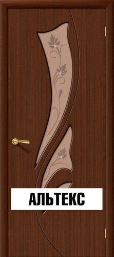Межкомнатная дверь - Эксклюзив Ф-17 (Шоколад)