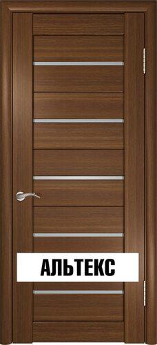 Межкомнатные двери - Лу-22 Тёмный орех