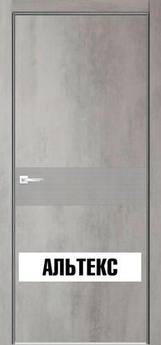 Межкомнатная дверь - Севилья 17 Бетон светлый