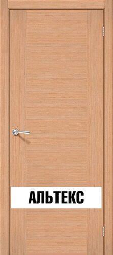 Межкомнатная дверь - Рондо Ф-01 (Дуб)