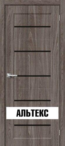 Межкомнатная дверь - Мода-22 Black Line Ash Wood