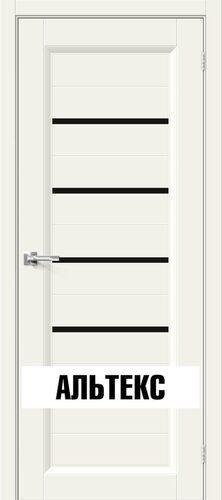 Межкомнатная дверь - Скинни-51 Black Line Whitey