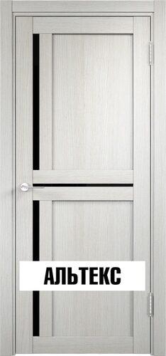 Межкомнатная дверь - Берлин 01 ДО (Лакобель) Слоновая кость