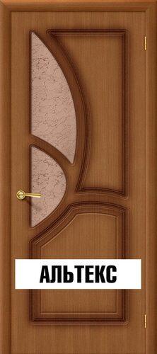 Межкомнатная дверь - Греция Ф-11 (Орех)