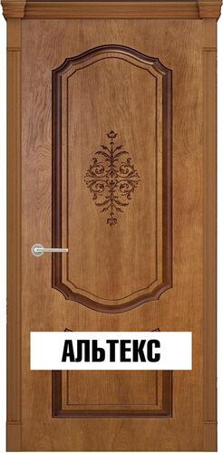 Межкомнатная дверь - Престиж 3D Орех натуральный 2