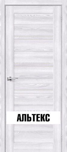 Межкомнатная дверь - Брав-28 Riviera Ice