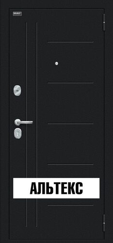 Входная дверь - Проф Букле черное/Wenge Veralinga