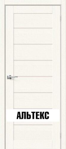 Межкомнатная дверь - Брав-22 White Wood