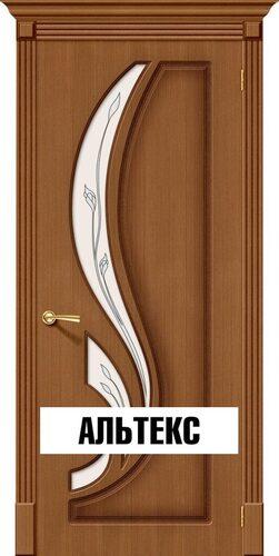 Межкомнатная дверь - Лилия Ф-11 (Орех)