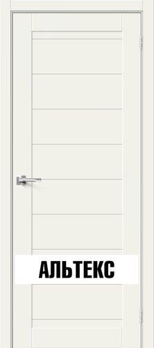 Межкомнатная дверь - Брав-21 White Mix