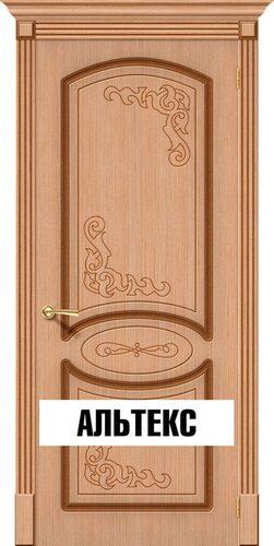 Межкомнатная дверь - Азалия Ф-01 (Дуб)