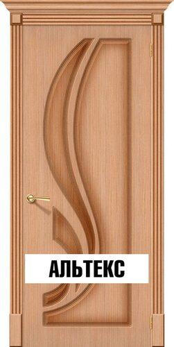 Межкомнатная дверь - Лилия Ф-01 (Дуб)