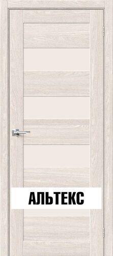 Межкомнатная дверь - Брав-23 Ash White