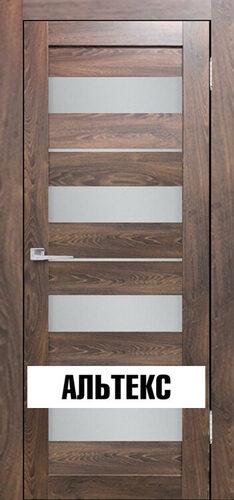 Межкомнатная дверь - Бавария 02 3Д-Люкс Ясень таволато