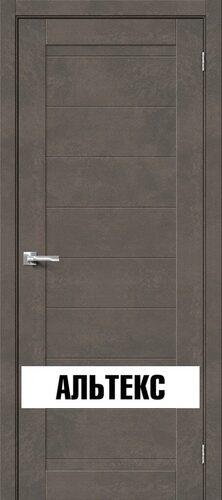 Межкомнатная дверь - Брав-21 Brut Beton