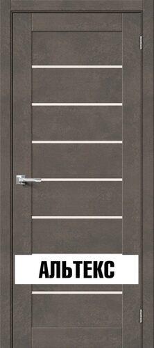 Межкомнатная дверь - Брав-22 Brut Beton