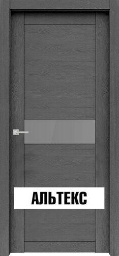 Межкомнатная дверь - Велюкс 2 Ясень грей