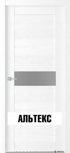 Межкомнатная дверь - Велюкс 2 Ясень сноу