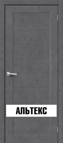 Межкомнатная дверь - Брав-21 Slate Art