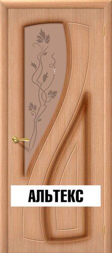 Межкомнатная дверь - Лагуна Ф-01 (Дуб)