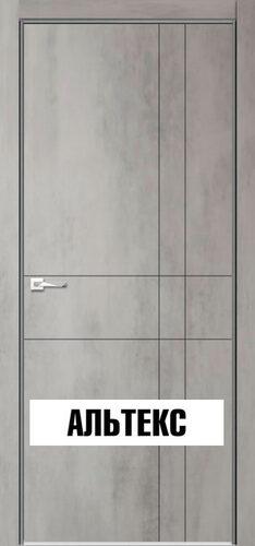 Межкомнатная дверь - Севилья 02 Бетон светлый