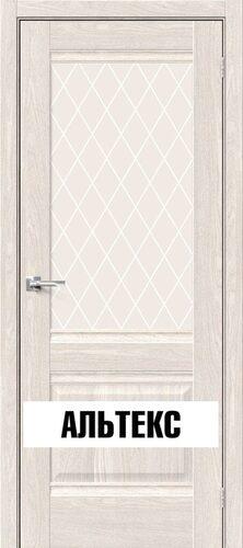 Межкомнатная дверь - Прима-3 Ash White