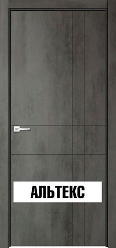 Межкомнатная дверь - Севилья 02 Бетон темный