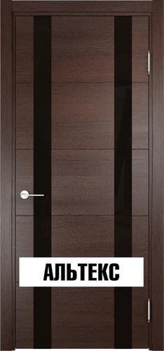 Межкомнатная дверь - Турин 06 Дуб графит вералинга