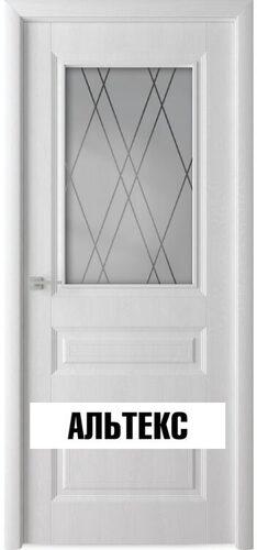 Межкомнатная дверь - Каскад тон Белый ясень