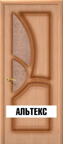 Межкомнатная дверь - Греция Ф-01 (Дуб)