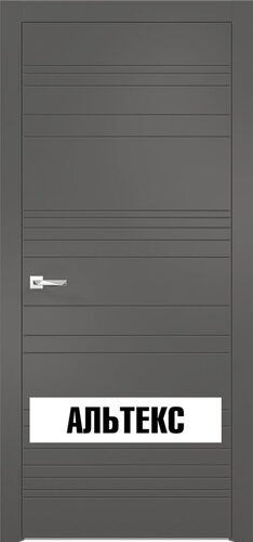 Межкомнатная дверь - Севилья 20 Софт графит