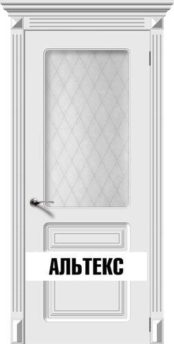 Межкомнатная дверь - Трио Белый