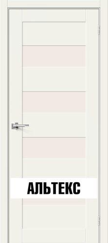 Межкомнатная дверь - Брав-23 White Mix